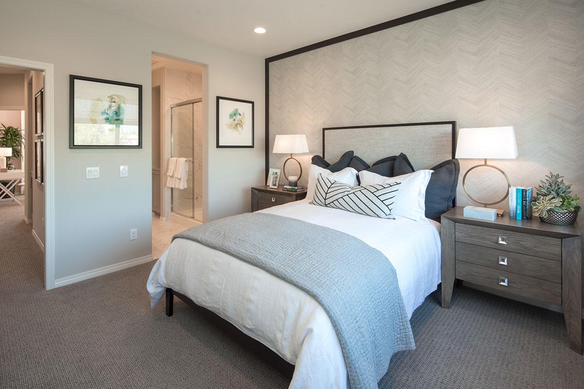 Arbor Walk Master Bedroom (Representative Model)